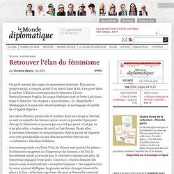 Retrouver l'élan du féminisme, par Christine Delphy (Le Monde di