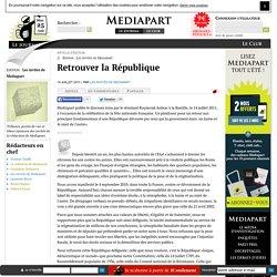 Retrouver la République