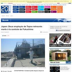 Japon: Deux employés de Tepco retrouvés morts à la centrale de Fukushima