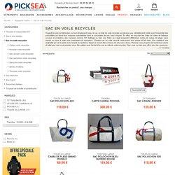 Retrouvez sur Picksea notre gamme de sac en voile de bateau recyclée !