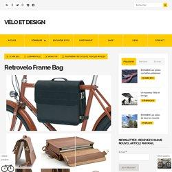 Retrovelo Frame Bag - Vélo et Design