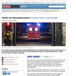 Rettungskräfte im Verkehr: Justiz meist zurückhaltend nach Unfällen