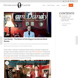 I am Dandy - The Return of the Elegant Gentleman Book Review