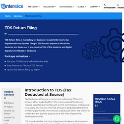 Online TDS Return Filing Process in India