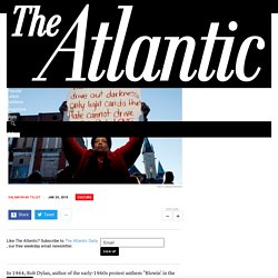 The Return of the Protest Song - The Atlantic