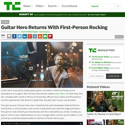 Guitar Hero Returns With First-Person Rocking