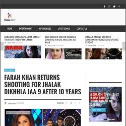 Farah Khan Returns Shooting For Jhalak Dikhhla Jaa 9