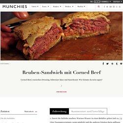 Reuben-Sandwich mit Corned Beef