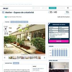 Salle de réunion Paris : Atelier - Espace de créativité