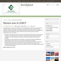 Réunion avec le CHSCT