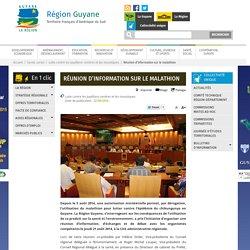 REGION GUYANE 22/08/14 Réunion d'information sur le malathion.