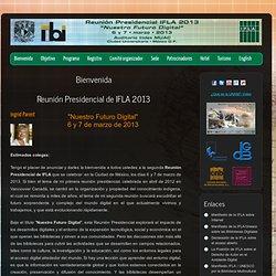 Reunión presidencial IFLA 2013
