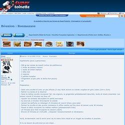 Recette: Réunion : Roumazave (Départements d'Outre-mer: Antilles