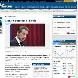 Référendum grec : Entretien téléphonique de Sarkozy avec Merkel et réunion interministérielle à l'Elysée