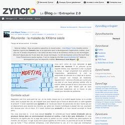 Réunionite: la maladie du XXIème siècle Zyncro Blog France