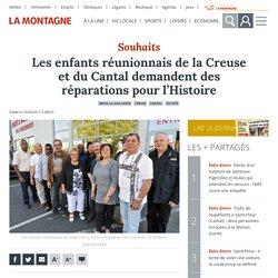 Les enfants réunionnais de la Creuse et du Cantal demandent des réparations pour l'Histoire - Brive-la-Gaillarde (19100)