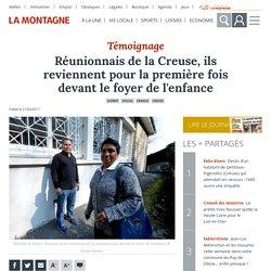 Réunionnais de la Creuse, ils reviennent pour la première fois devant le foyer de l'enfance - Guéret (23000)