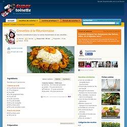 Crevettes à la Réunionnaise