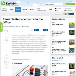 Reusable Replacements: In the Office