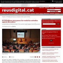 El TEDxReus 2015 posa a la venda les entrades aquest divendres