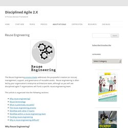 Disciplined Agile 2.X