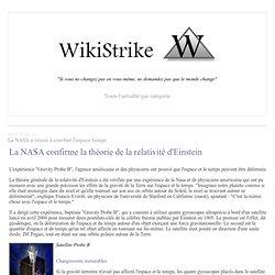 La NASA a réussi à courber l'espace temps - wikistrike.over-blog.com
