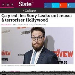 Ça y est, les Sony Leaks ont réussi à terroriser Hollywood