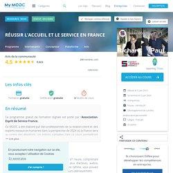 MOOC Réussir l'accueil et le service en France