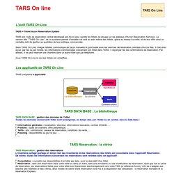 Accor 2000 - Réussir Ensemble - Les fiches outils