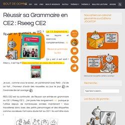 Réussir sa Grammaire en CE2 : Rseeg CE2