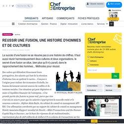REUSSIR UNE FUSION, UNE HISTOIRE D'HOMMES ET DE CULTURES - le guide
