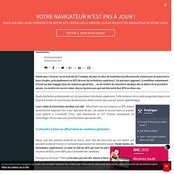 Réussir en BTS après un bac pro : les clés du succès - Letudiant.fr - L'Etudiant