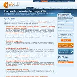 projet CRM : comment réussir un projet CRM - logiciel CRM Infocob