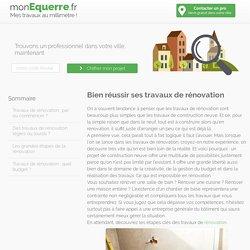 Bien réussir ses travaux de rénovation - monEquerre.fr