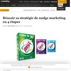 Réussir sa stratégie de nudge marketing en 4 étapes