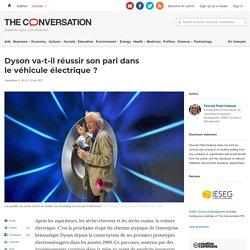 Dyson va-t-il réussir sonpari dans levéhicule électrique?