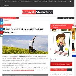 10 marques qui réussissent sur Pinterest