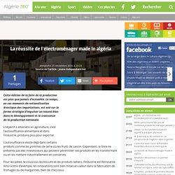 La réussite de l'électroménager made in algéria