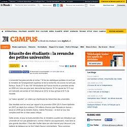 Réussite des étudiants : la revanche des petites universités