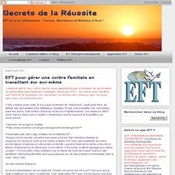 EFT pour gérer une colère familiale en travaillant sur soi-même