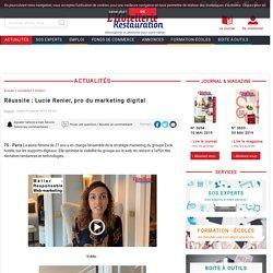 Lucie Renier, presponsable marketing digital