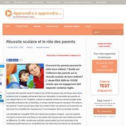 Réussite scolaire, le rôle des parents