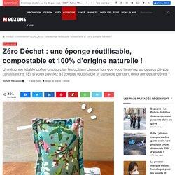 Zéro Déchet : une éponge réutilisable, compostable et 100% d'origine naturelle ! - NeozOne