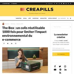 The Box : un colis réutilisable 1000 fois pour limiter l'impact environnemental du e-commerce