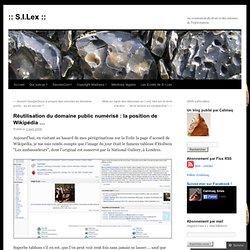 Réutilisation du domaine public numérisé : la position de Wikipé
