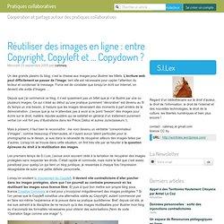 Réutiliser des images en ligne : entre Copyright, Copyleft et ... Copydown ?
