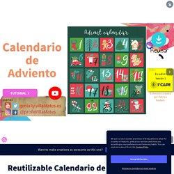 Plantilla Genially Reutilizable - Calendario de adviento by Francisco Javier Martinez Urda