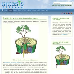 Reutilize dez vezes o Waterboxx® plant cocoon - Produtos