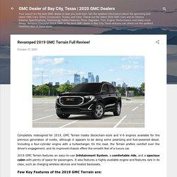 2019 GMC Terrain Review