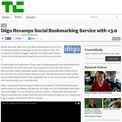 Diigo Revamps Social Bookmarking Service with v3.0